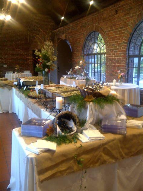 buffet setup for wedding   Buffet Setup from Avondale