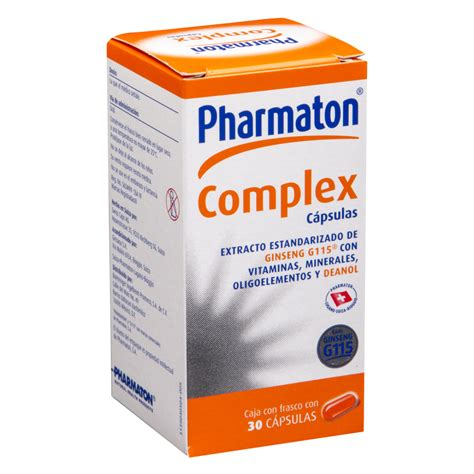 Pharmaton Ginseng pharmaton complex 30 capsulas