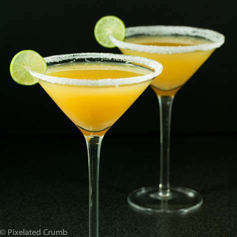 martini pineapple key lime pineapple citrus martini pixelated crumb