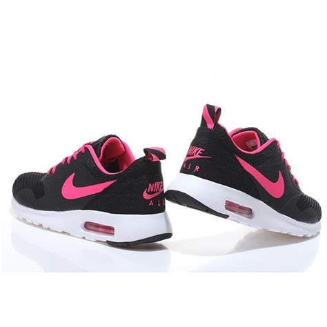 nike air max tavas womens running shoes black pink buy