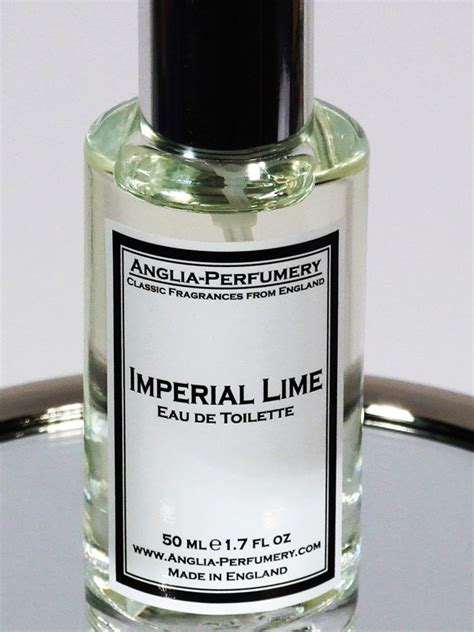Parfum Imperial imperial lime anglia perfumery cologne a fragrance for