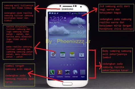 Hp Samsung Replika S4 samsung asli dan palsu