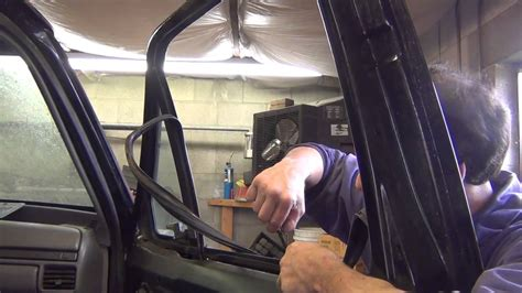 how to fix cars 1994 ford f350 windshield wipe control 1994 powerstroke project part 45 door glass and rear window removal youtube