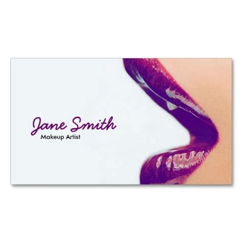 makeup artist business cards makeup vidalondon