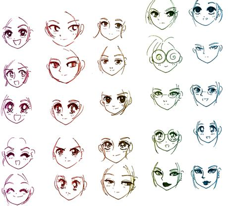 easy to draw anime faces emotions step by step guide how to draw 28 emotions on different faces drawing books books faces animecutes s