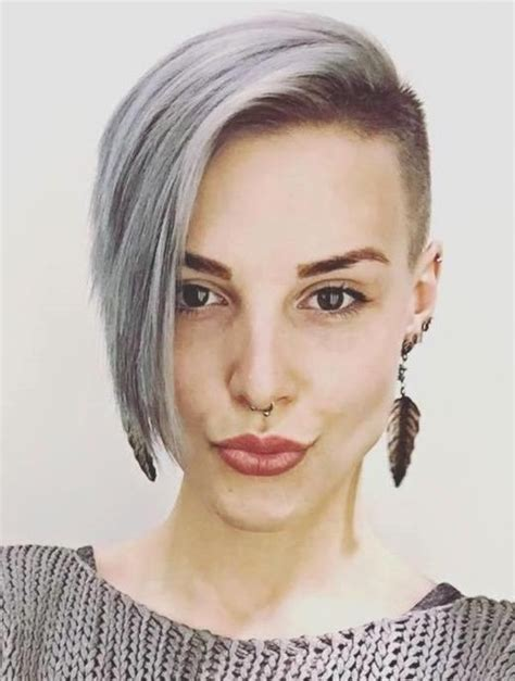 half shaved pixie haircut best 25 half shaved head hairstyle ideas on pinterest