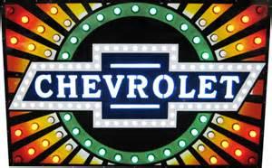 chevrolet dealer neon sign chevymall