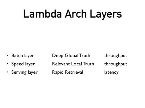 visitor pattern lambda patterns of the lambda architecture 2015 april hadoop
