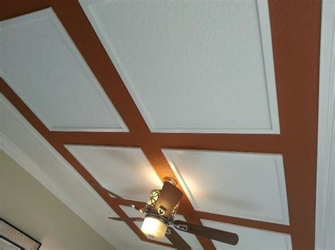 Faux Tray Ceiling by Faux Tray Ceiling In Bedroom