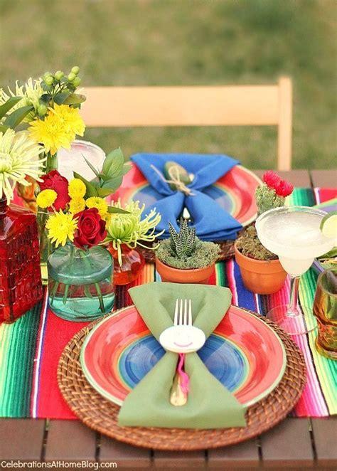 cinco de mayo centerpieces mexican ideas for cinco de mayo celebrations at home