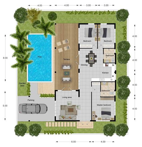 villa layout plan with pool orchid paradise homes new development of pool villas in