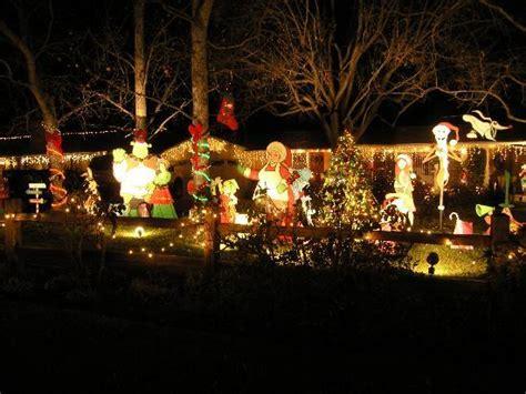christmas light show san marino large santa display picture of los angeles tripadvisor