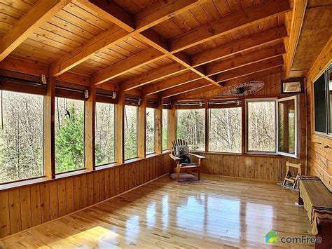 Prefab Sunroom Log Home Improvements For Not A Sunroom Kits Offered By
