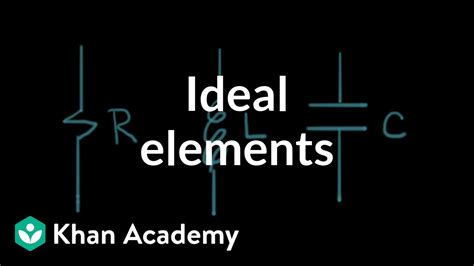 ideal circuit elements circuit analysis electrical engineering khan academy youtube