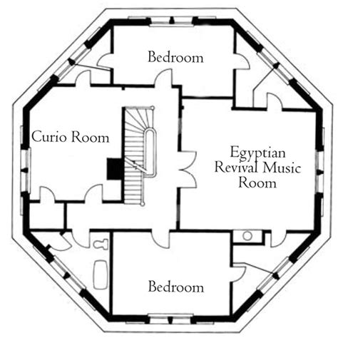 Log House Floor Plans octagon house joseph pell lombardi architect