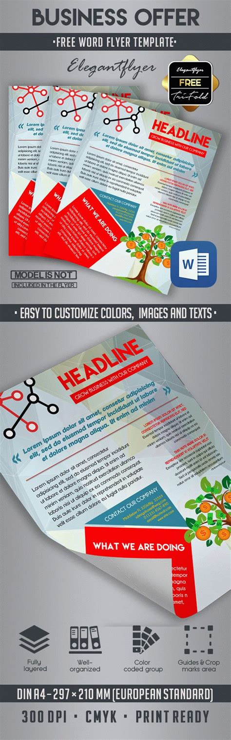 10 Best Business Flyer Templates In Word By Elegantflyer Caign Flyer Template Word