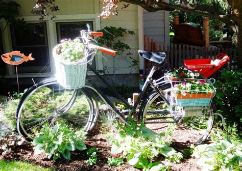 Bicycle Flower Planter by Bicycle Flower Planter Boise