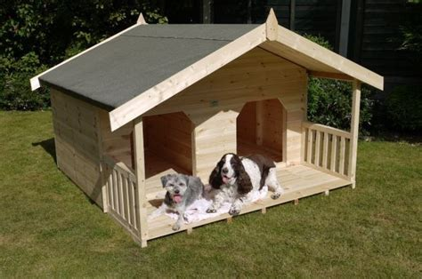 double dog house plans homemade dog kennel roof dog breeds picture