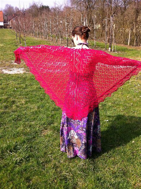 knitting today marlene triangle shawl knitting pattern
