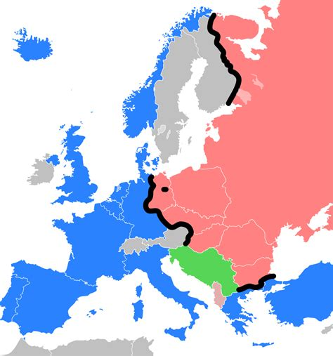 how was the iron curtain a dividing line iron curtain wikipedia