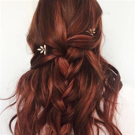 fancy braided hairstyles fancy braided hairstyles wedding hairstyle auburn hair