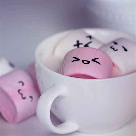 wallpaper tumblr marshmallow marshmellows marshmallows by lieveheersbeestje on