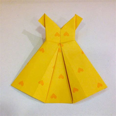 Paper Dress Origami - 17 best images about origami dresses on