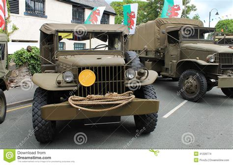 American Jeep American Army Jeep Stock Photo Image 41228774