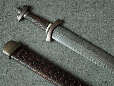 making a pattern welded knife composite pattern welded viking sword tutorial jake powning