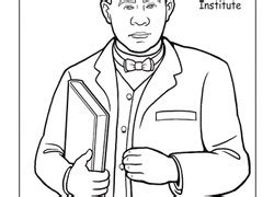 coloring pages booker t washington coloring page of booker t washington murderthestout