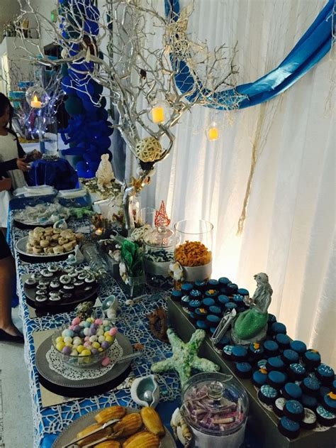 under the sea candy table 17 best images about fabulicious sweets buffet on
