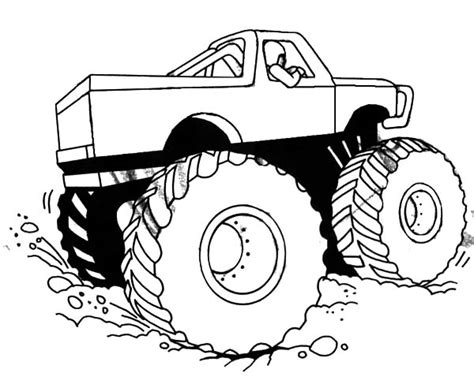 grave digger monster truck coloring pages colouring pages monster trucks grave digger truck
