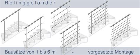 Edelstahlgeländer Selbstbau by Baus 228 Tze Edelstahlgel 228 Nder Relinggel 228 Nder Als Treppen