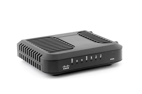 Modem Cisco cisco model epc2202 eurodocsis 2 0 cable modem with embedded digital voice adapter modem