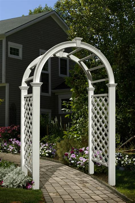 Lowe S Wedding Arch by 9 Best Vinyl Arbors Images On New