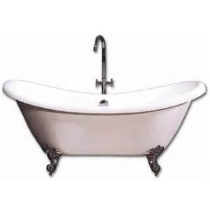 acri tec rhapsody 69 inch clawfoot tub with chrome legs