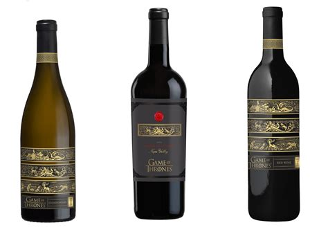 hbo announces new line of licensed of thrones wines