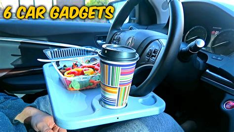 gadgets for easy life 6 car gadgets put to the test youtube