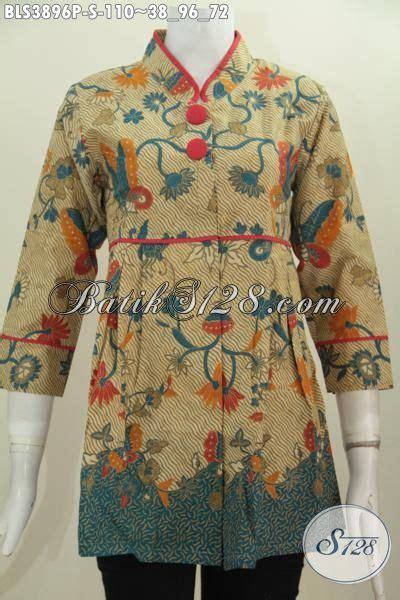 Pakaian Murah Gamis Motif Kombinasi S M L Xl 1 baju blus trendy kerah shanghai plisir polos motif paling trendy pakaian batik print