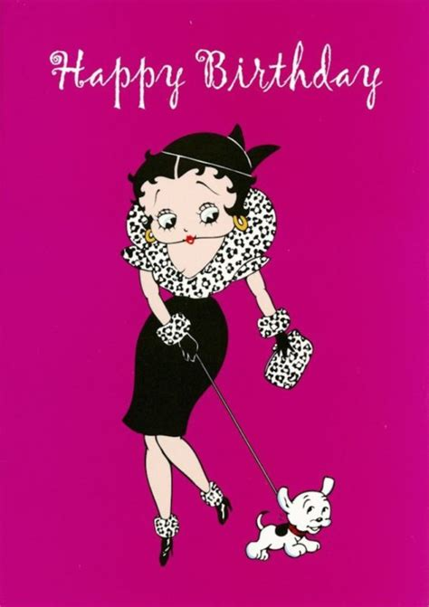 betty boop christmas cards