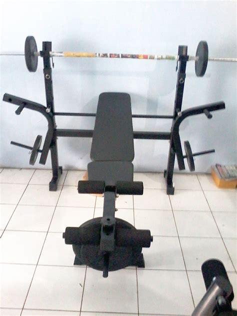 jual alat fitness bench press grosir alat fitnes bdg