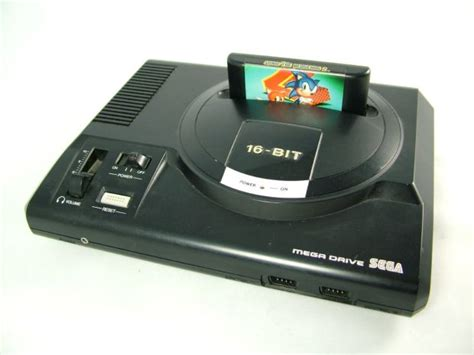 megadrive console a look back at the sega mega drive the linc