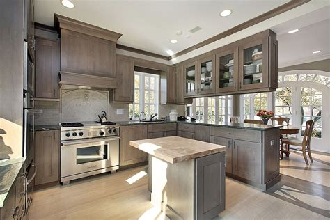 gray wood kitchen cabinets kitchens all custom wood
