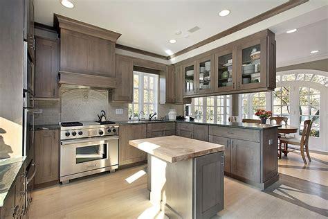 grey oak kitchen cabinets kitchens all custom wood