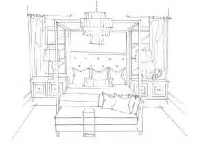 moderne manor master bedroom design