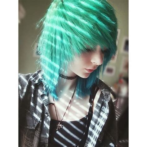edgy emo hairstyles pretty lightingness instagramer hallucineon