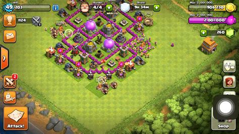 coc th6 layout with air sweeper coc best th6 farming base with air sweeper youtube