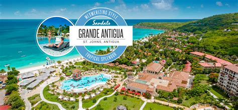 sandals resort antigua antigua all inclusive resort sandals grande antigua