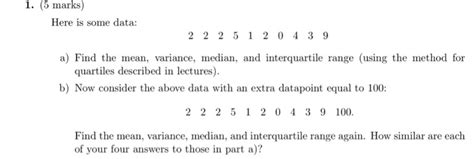 statistics section 2 part b question 6 statistics and probability archive january 30 2018