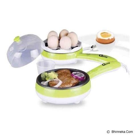 jual oxone 2in1 frypan egg steamer ox 181fe murah